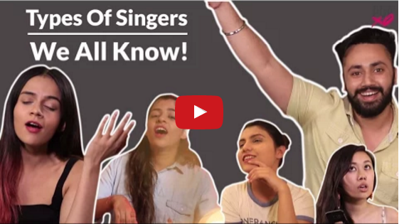 Types Of Singers We All Know