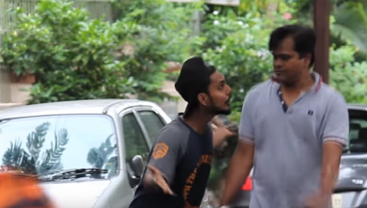 kahan jaa rahe ho funny prank in india prank gone wrong