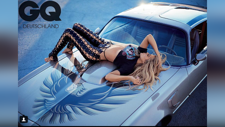 khloe kardashian GQ magazine cover photo viral