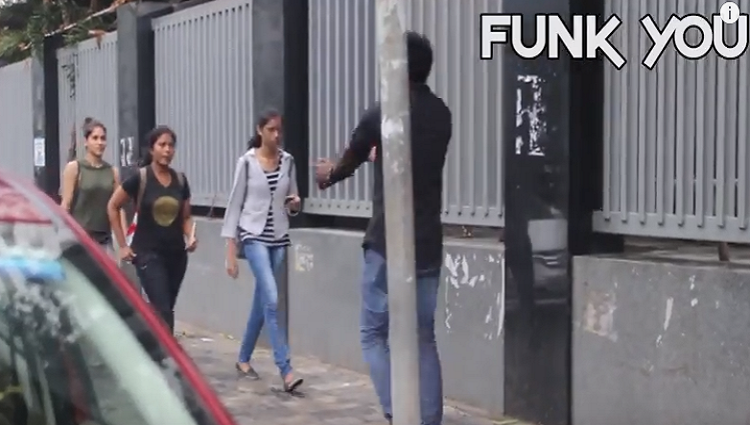 Guy Kissing Girls Prank Funk You Pranks In India