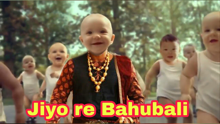 Baby Dance With Jiyo re Bahubali Song Bahubali 2 song