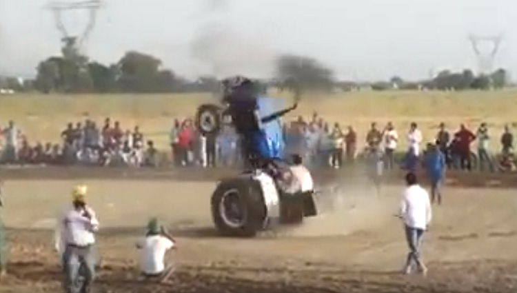 tractor dance video viral on youtube