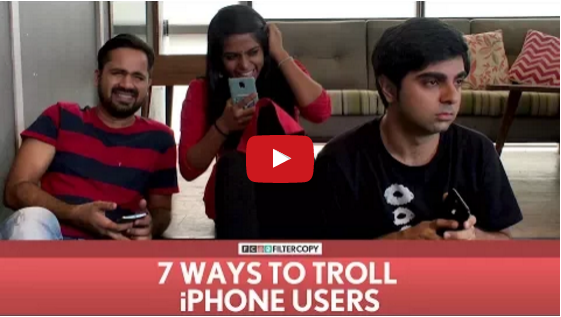 7 Ways To Troll iPhone Users