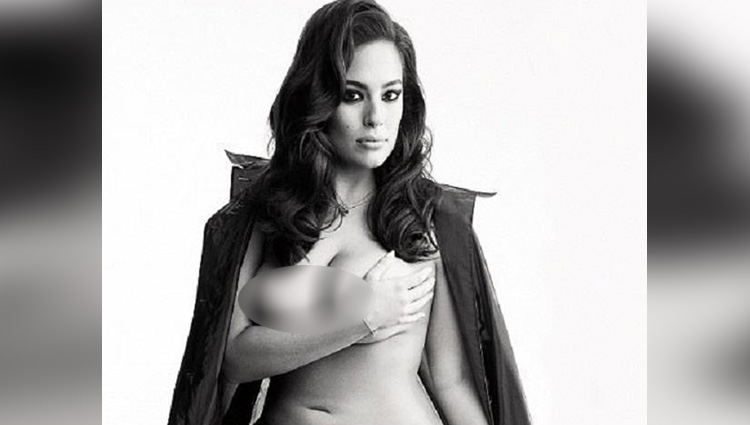 plus size model ashley graham latest nude photoshoot for love magazine