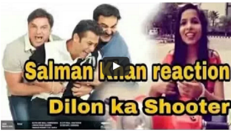 Salman reaction dhinchak pooja dilon ka shooter