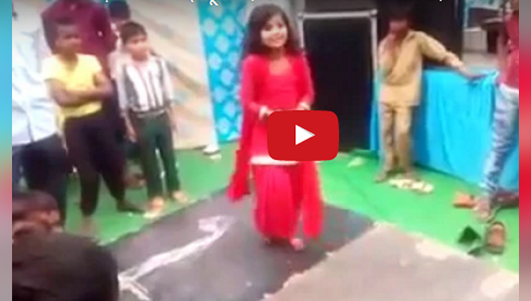 little girl dance video viral