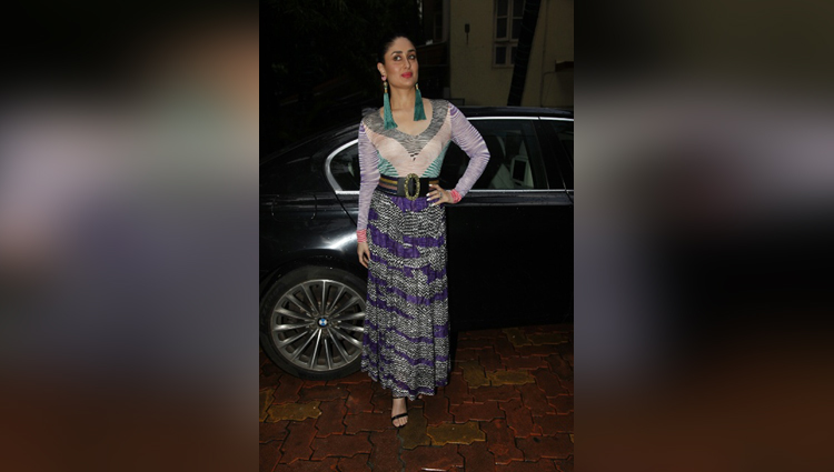 Kareena Kapoor Khans outfit at Rutuja Diwekars book launch