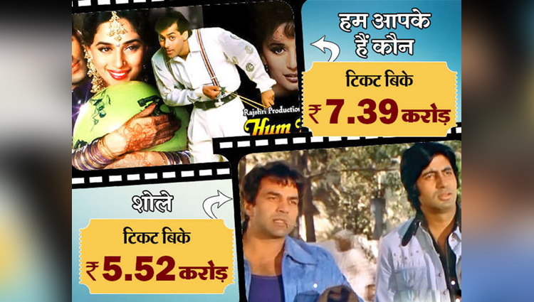 Bollywood movies with maximum number of sold tickets