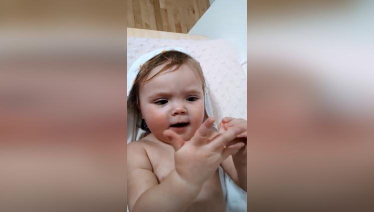 Little Baby Singing Nursery Rhyme