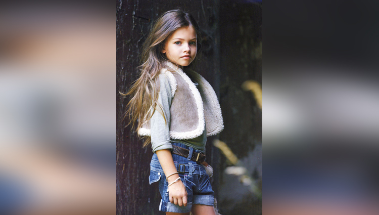Worlds beautiful child Thylane Blondeau