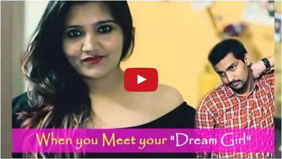 Funny video reality of dream girl