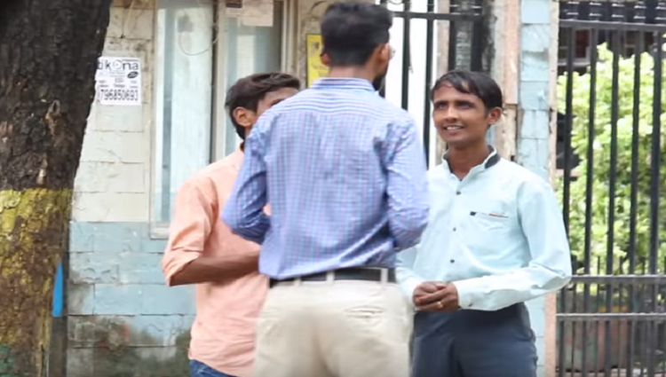 Fake Interview Prank Giving Interview To Random People Prank in India