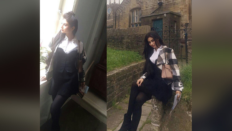 Mouni Roy channels vintage glamour at her UK vacay