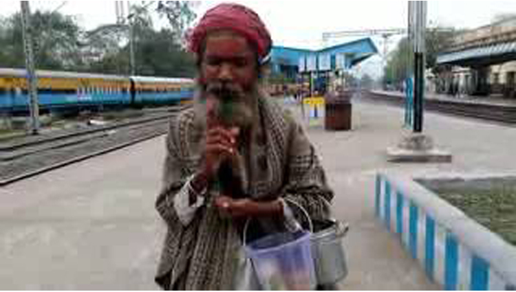 Beggar Knows English Viral Video