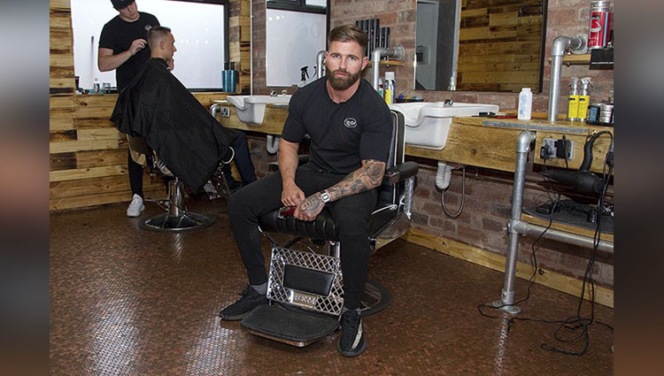 Barber shop Decorates Shop floor Rich Holtham