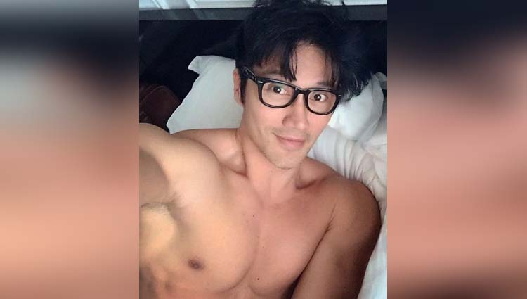 Singaporean model 50 shows off his youthful good looks