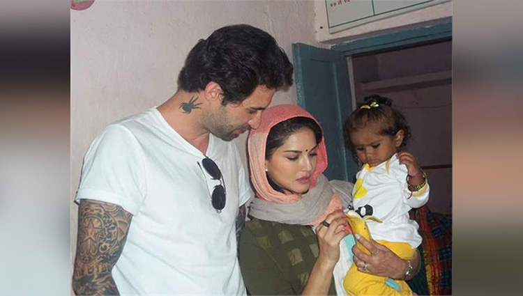 Sunny Leone becomes a mother heres a first look at the child