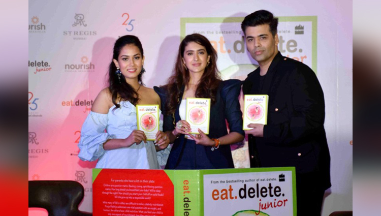 meera rajput oops moment at book launching event