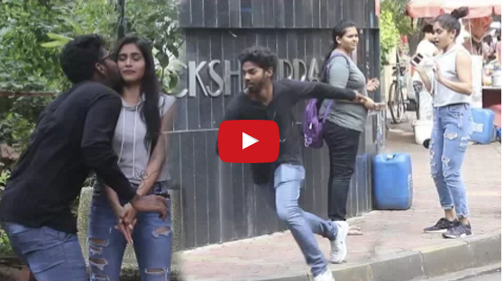 Kiss And Run Prank Part 2 Funk You Pranks In India