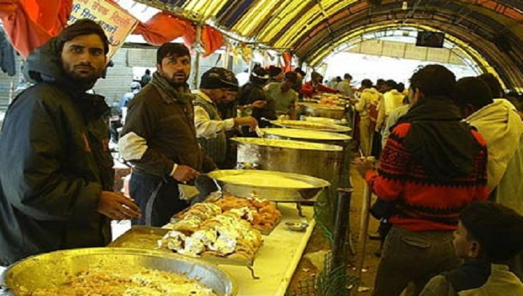langar on amarnath yatra for devotees