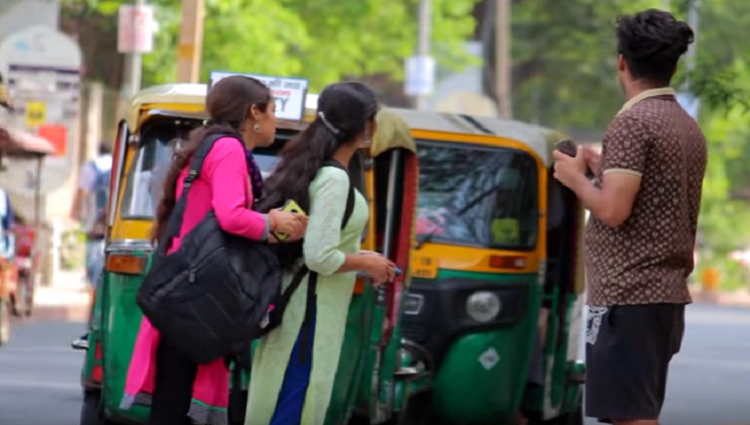 Complimenting Girls in Funny Language WATCH TILL END TST Pranks in India