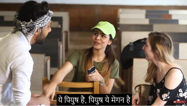 firangi girl vs desi chora amit bhadana
