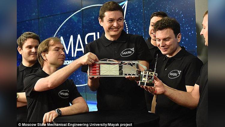 Russian artificial star Mayak