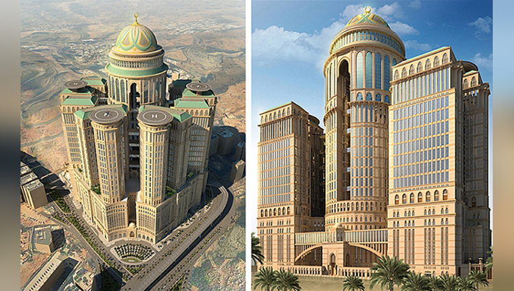 worlds biggest hotel to open in mecca