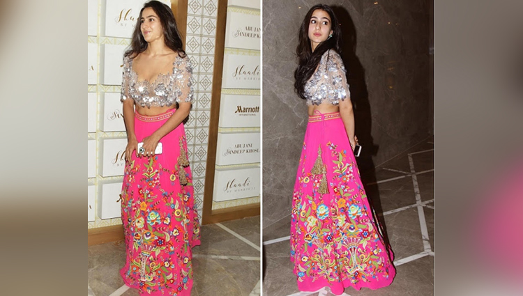Sara ali khan traditional look