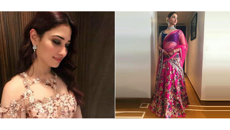 Tamannaah Bhatia At Her Brother's Recent Wedding Looks Like A Complete Desi Sister