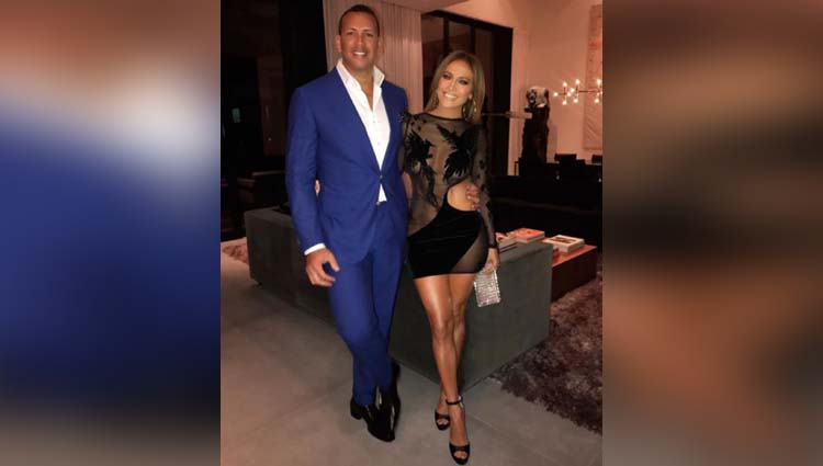 jennifer lopez wears a daring dress for date night with alex