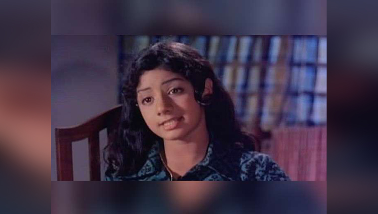 old and rare pictures of sridevi