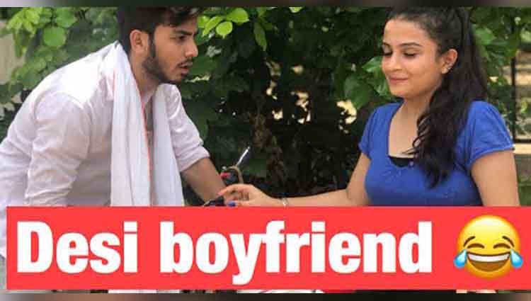Desi vs city boyfriend-vine-Elvish yadav
