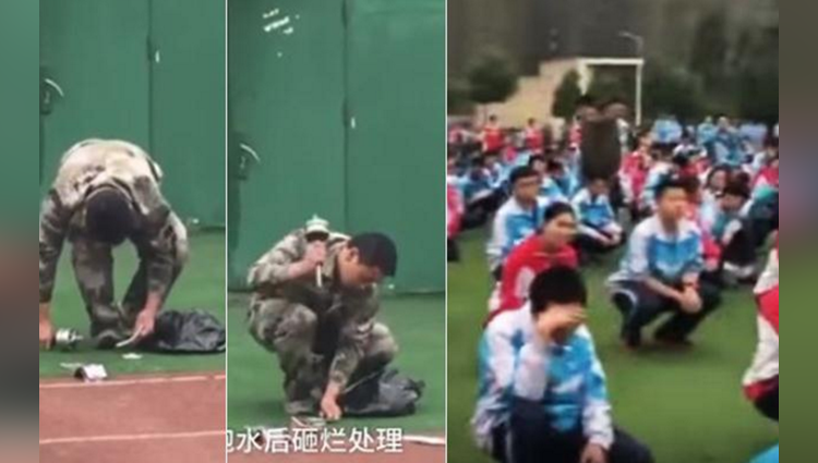 Chinese authorities are cracking down students phone