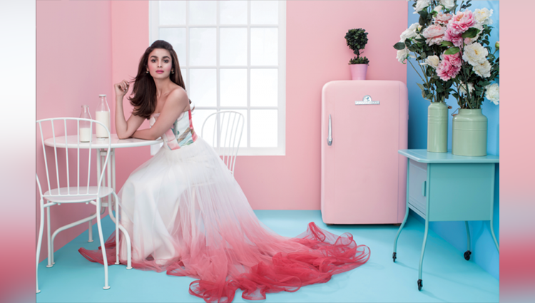 Alia Bhatt Is Fond Of Pink Colour, See In Photos