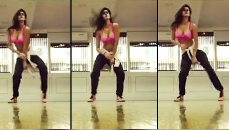 Shocking Video Disha Patani Dance Practise 2017 Video Viral on Web