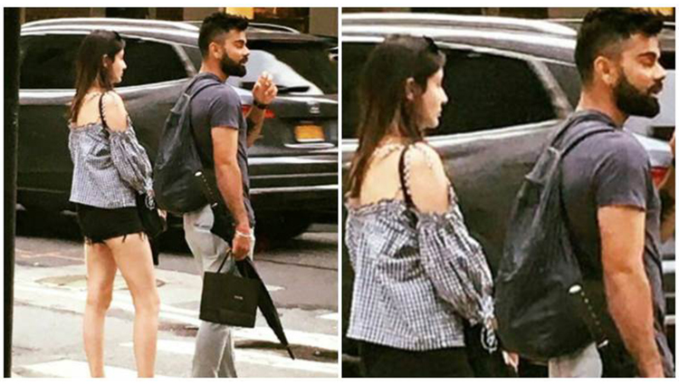 virat kohli and anushka sharma at new york IIFA