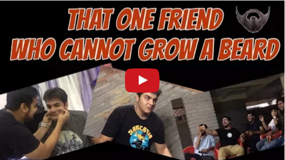 That one Friend who cannot grow a Beard