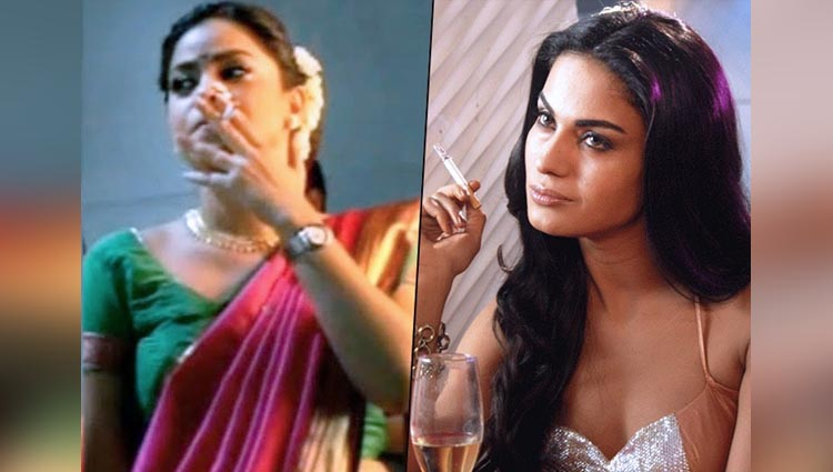 7 Television Girls Who Have Been Caught In Act Of Smoking