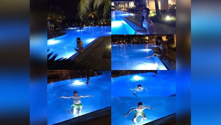 Monalisa honeymoon photos