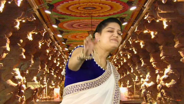 sapna choudhary new dance video viral