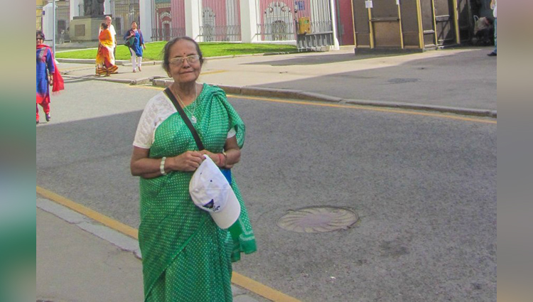 Ghumakkad aunty travelled over 25 countries
