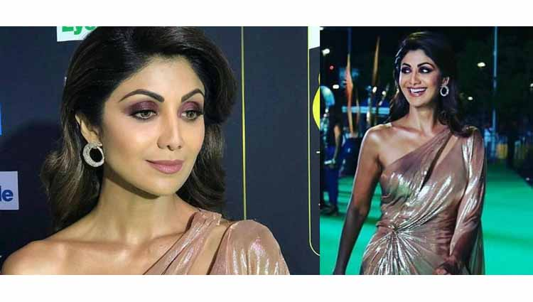 Shilpa Shetty Worn Major Holographic Gown At IIFA, See In Pictures