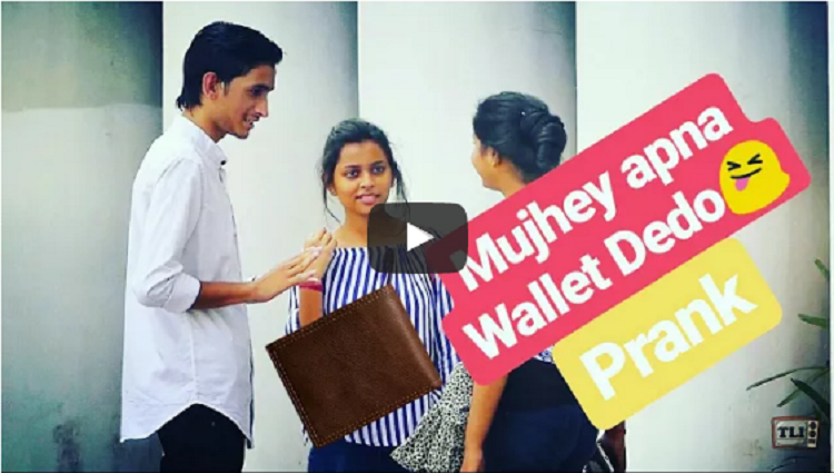 Give me your wallet Pickpocket Pranks in India 2017 Comment Trolling The Liberal Indian TLI