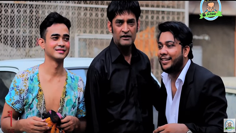Celebrity Funny Prank With Pervez Siddiqui In P4 Pakao By Ahmed Khan