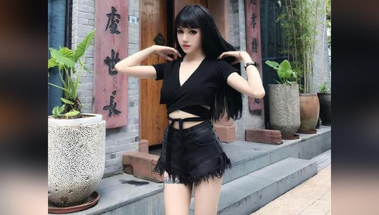 Chinese human doll