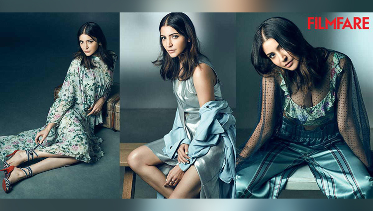Anushka Sharma goes BACKLESS for Filmfares cover page