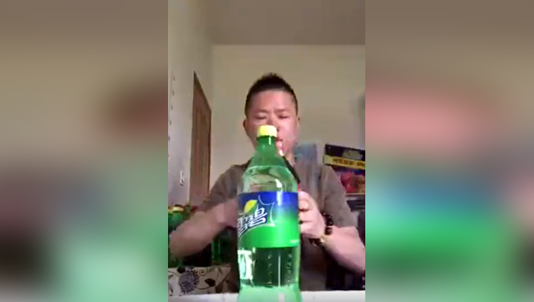 Man who drank three litres of coke