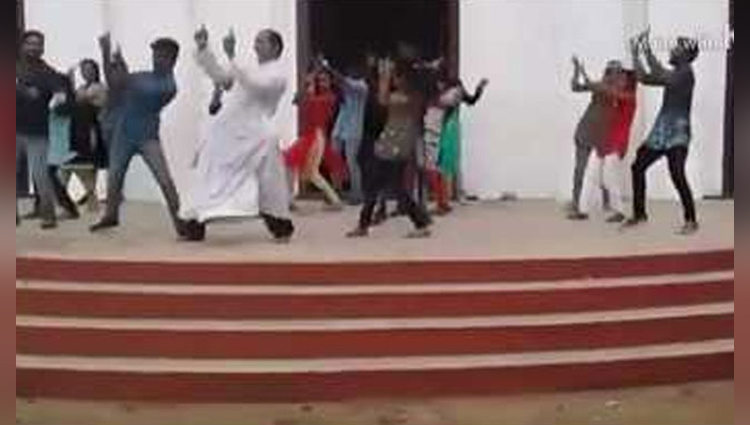 a kerala priest and his dance moves have the internets attention