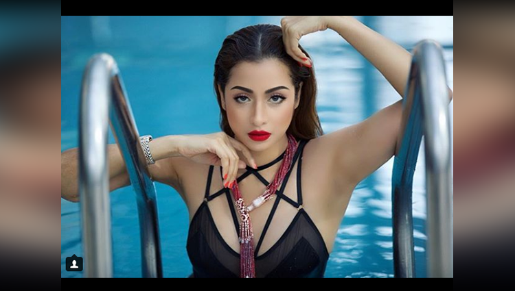 madhura naik black bikini photos